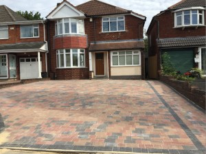 Block Paving Driveways Kidderminster - after
