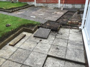 New Patio Kidderminster - before